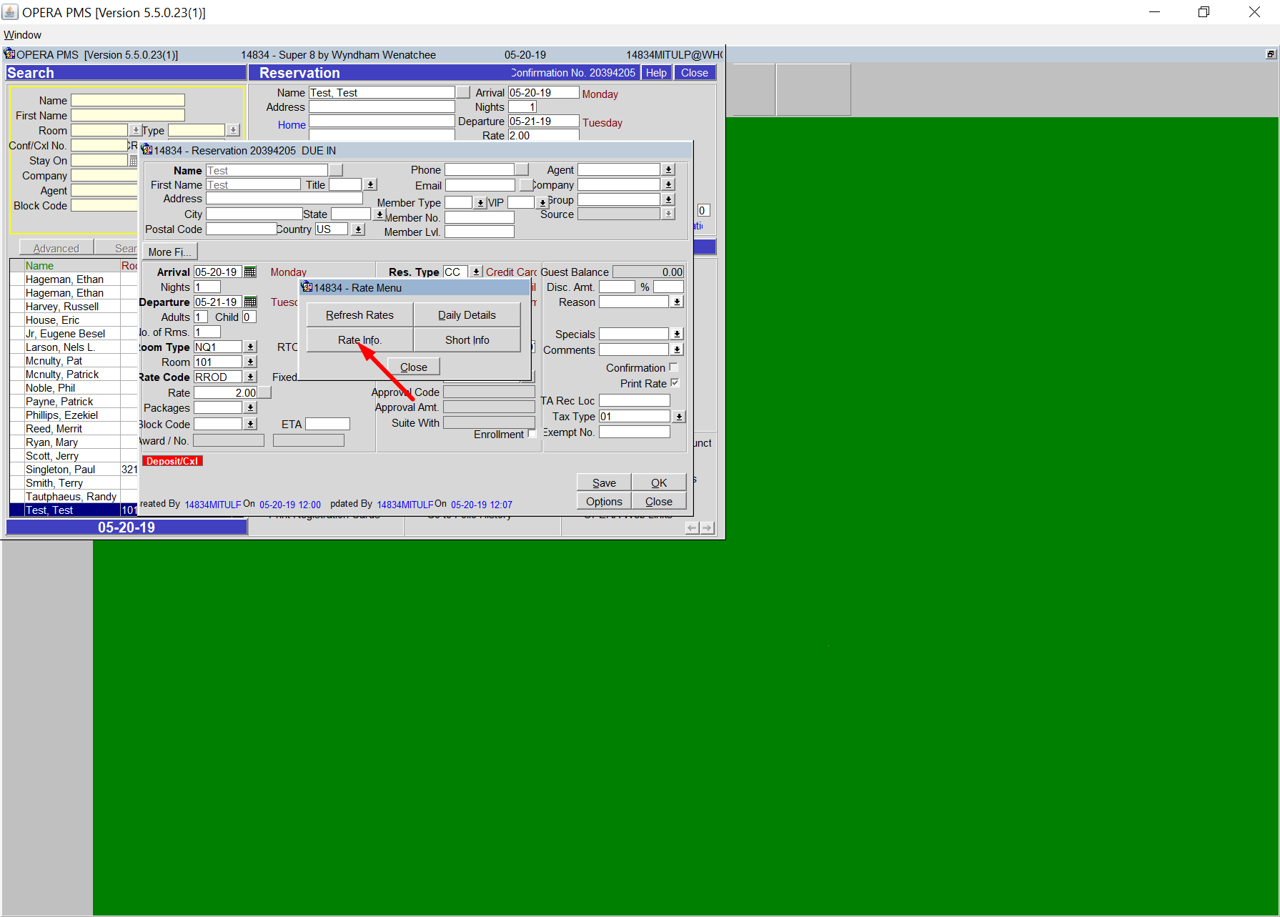 Synxis help step 5 search guest member data step 6 fill out ccuart Images
